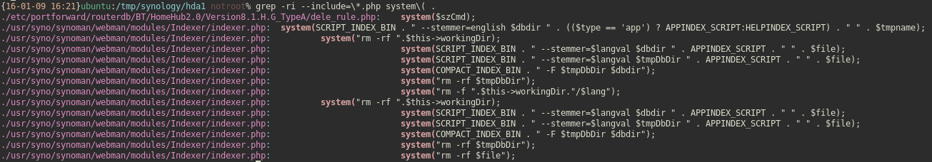 Riley Kidd - Synology NAS DSM 5 2 Remote Code Execution (RCE)